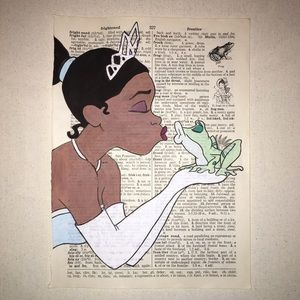 Princess and the Frog Painting